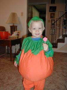 David's Halloween costume