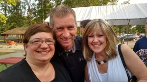 Roy-Hart 30th reunion- Cyndi Barker, Todd & Dawn Arnold