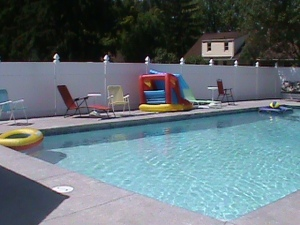 56 Creekward- pool remodel